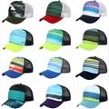 Trucker Mesh Hats Sublimated Hat Cap Adjustable Adult Snapback Baseball Cap