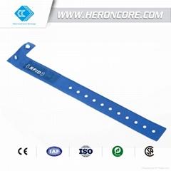 RFID Disposable PVC Wristband Series