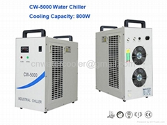 High Cooling Efficiency CW-5000 Small Water Chiller for Laser Machine