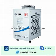 CW-6000 Chiller Air Cooled Portable Chiller Filber Laser Marker Water Chiller