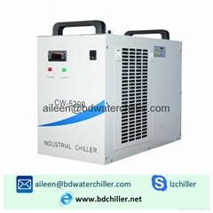110V CW-5200DG Industrial Water Chiller for 130W / 150W CO2 Laser Tube