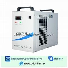 110V CW-5200DG Industrial Water Chiller for 130W / 150W CO2 Laser Tube