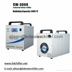 9L 110V CW 3000 Industrial Water Chiller for 60/80W CO2 Glass Tube