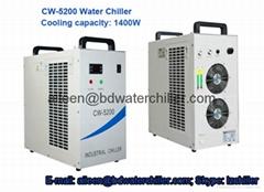 220V 110V Cold Water Chiller For Cooling Single 130W CO2 Laser Tube