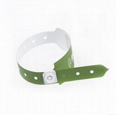 Stretch And Tear Resistance Paper Wristband