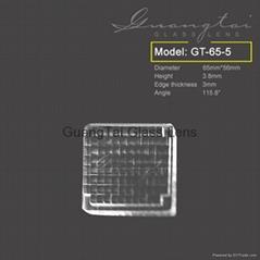 長方形光學玻璃復眼透鏡(GT-65-5)