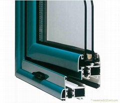 Anodizing aluminum windows and doors profile