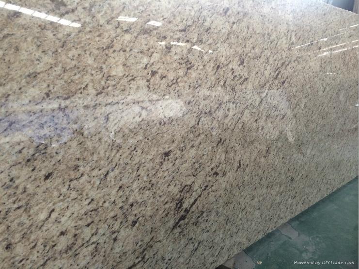 Hotsale Giallo Ornamental Granite Countertop Bar Top Giallo Ornamental Beige Gra 2