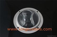 High quality led tunnel light optical glass lens