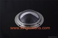 120 Degree Glass Fitting Optical Lens High Bay Light Glass Lens