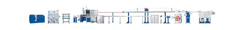 50mm Soft Optical Fiber Cable Sheath Production Line-Optical Cable Equipment 1