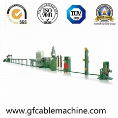 Physical Foaming Coaxial Cable Extrusion Production Line (Rg59/6)