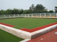 門球場草坪