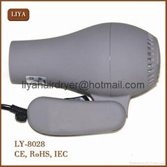 Dc Motor Colorful TravelHair Dryer