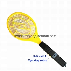 Two Battery Operated Electric Mosquito Swatter Killer