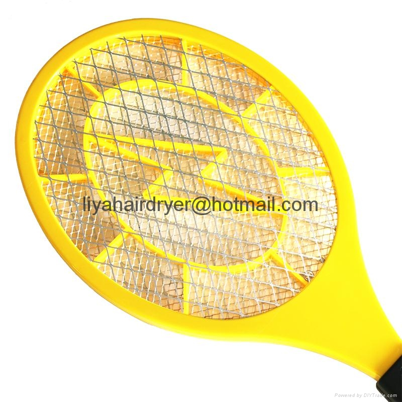 Two Battery Operated Electric Mosquito Swatter Killer 3