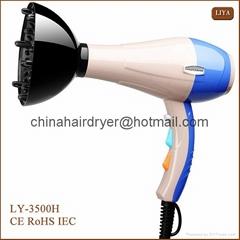 2200w Blowdryer Travel Hair Dryer with Diffuser