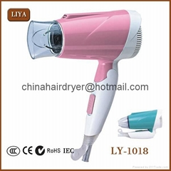 China Mini High Temperature Hair Dryer