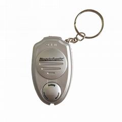 外貿超聲波電子驅蚊器鑰匙扣迷你驅蚊器便攜式戶外聲波電子驅蚊器