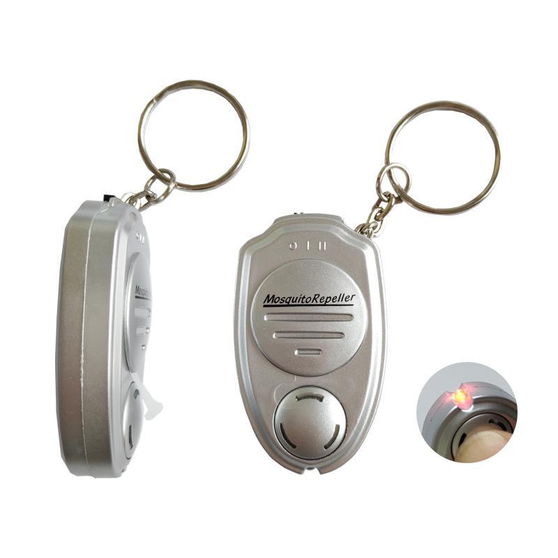 外贸超声波电子驱蚊器钥匙扣迷你驱蚊器便携式户外声波电子驱蚊器 5