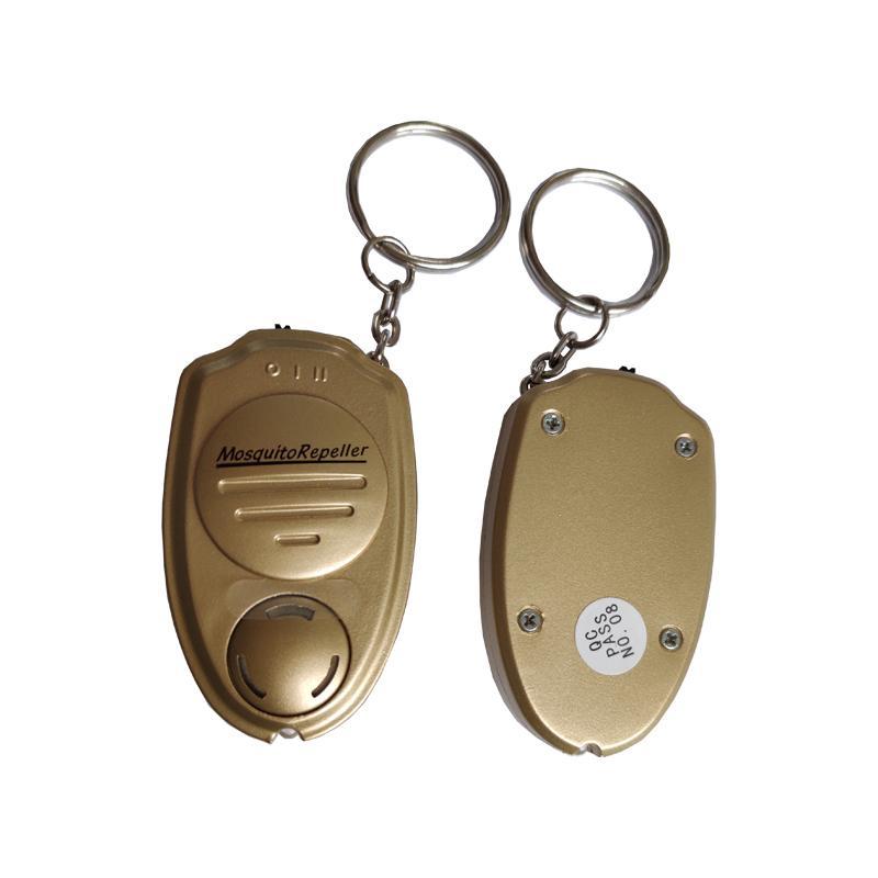 外贸超声波电子驱蚊器钥匙扣迷你驱蚊器便携式户外声波电子驱蚊器 4