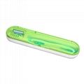 新奇特便携式杀菌收纳盒热销牙刷消毒盒旅行款UV紫外线牙刷消毒器 4