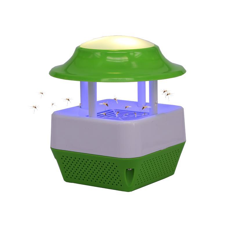 USB電子誘蚊滅蚊器&LED暖光夜燈 1