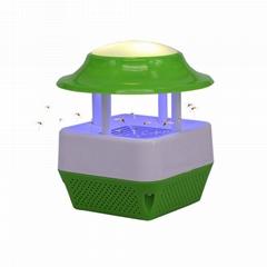 USB電子誘蚊滅蚊器&LED暖光夜燈