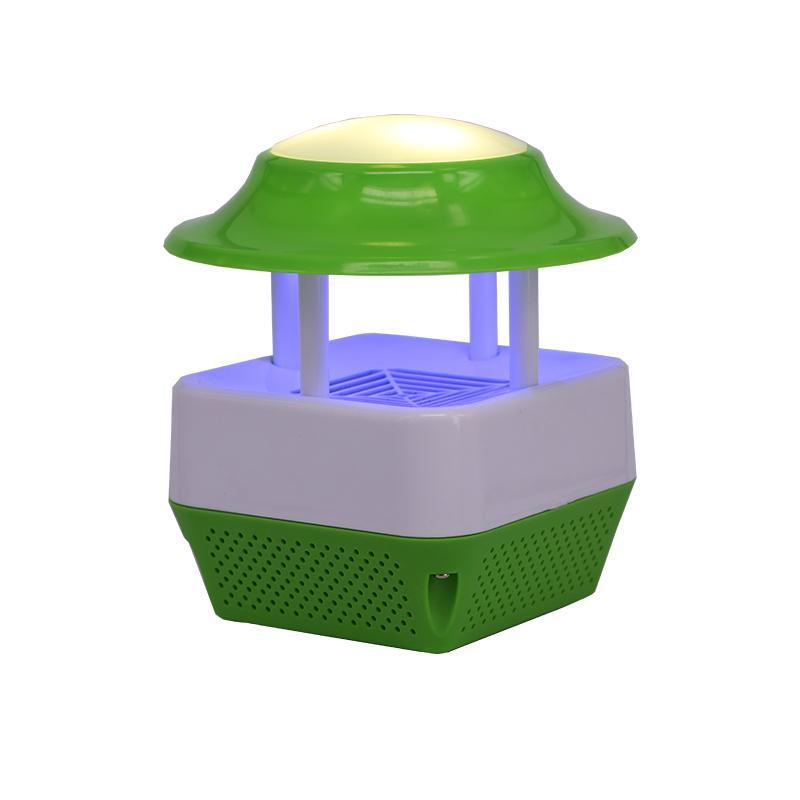 USB電子誘蚊滅蚊器&LED暖光夜燈 5