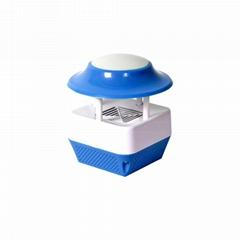 USB紫光電子滅蚊器&LED暖光夜燈