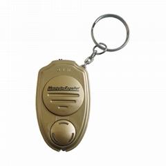 外貿熱銷戶外匙扣款超聲波電子驅蚊器