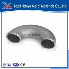 45 degree high quality titanium elbow for tube