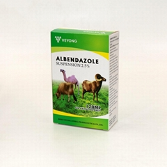 ALBENDAZOLE SUSPENSION 10% 1L*12bottles