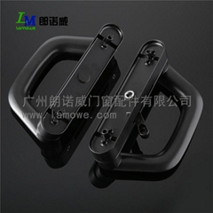 Modern style hot sale good quality black or white zinc alloy powder coating alum