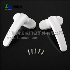 High Quality T Shape White Aluminum Alloy Window Handle for Door&Window's Access