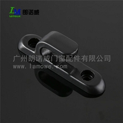 Hot Sale Black Aluminum Alloy Window Handle for Sliding Door in China