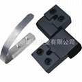 Wholesale Good Price Black Aluminium Hinge for Doors and Windows 1
