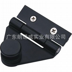 Hot Selling Black Aluminum Alloy Surface Paint Aluminium Door Hinge for Sale All