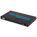 New 1x8 3D HDMI Splitter for HDTV HDMI V1.3 1080P Audio Video Splitter Extender