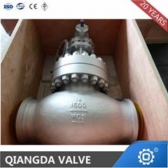 ANSI Cast Steel Flanged Hand Wheel Globe Valve