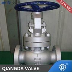 API Rising stem Cast steel Flanged globe valve