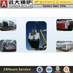 DZL Yuanda manufactory Industrial Chain GrateCoalbiomass Fired Steam BoilerPr