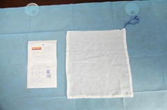 100% cotton medical absorbent X-RAY and blue loop surgical towel and Lap Sponge