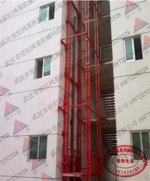 多樓層導軌式昇降貨梯 1