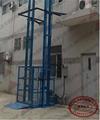 二柱導軌式昇降貨梯