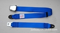 Blue Airplane seat belt& Aircraft seat