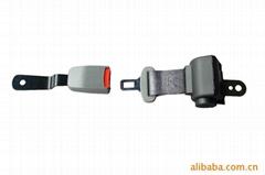 Retractable 2 points car safety belts&ALR seat belt