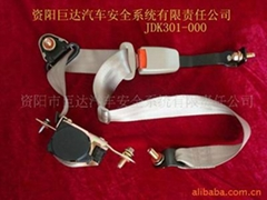 Universal ELR car seat belts