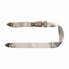 manufacture 2 points bus lapbelt beige colour