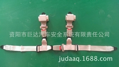 4- point with retractor seat belt racing car safety belt